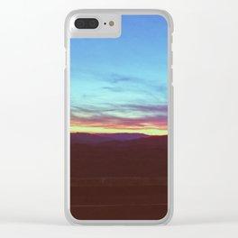 Wesser Bald •Appalachian Trail Clear iPhone Case