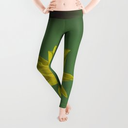 The yellow flower of my old friend Leggings