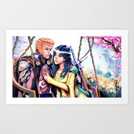 Courtly Love Art Print