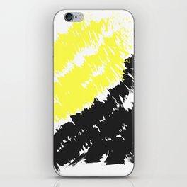 Yellow Black iPhone Skin