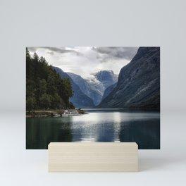 Nærøyfjord - Norway Mini Art Print