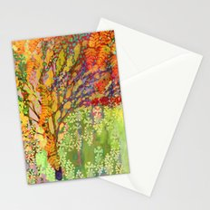 Immersed in Summer Stationery Cards
