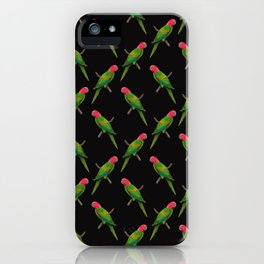 Parrot Pattern iPhone Case