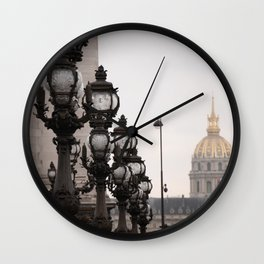 Invalides Wall Clock