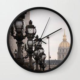 Invalides Wall Clock