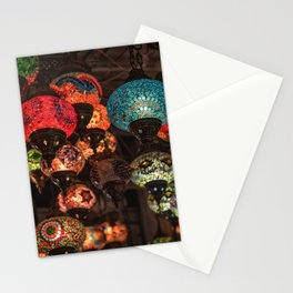 Turkish lamps Stationery Cards