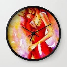 Art of Seduction - Erotic Painting Wall Clock