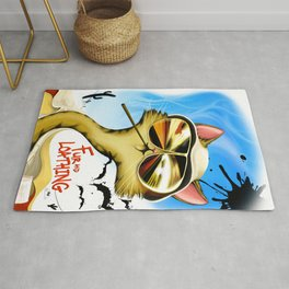 Fur And Loathing Cat Rug