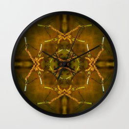 Dragonflyies  Wall Clock