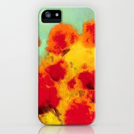 FLOWERS - Poppy time iPhone Case