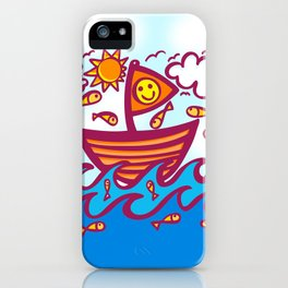 LUCKY FISHING DAY iPhone Case