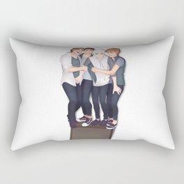 5 Seconds of Dorks Rectangular Pillow