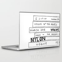 vogue Laptop & iPad Skins featuring vogue forever by ElisaGabi