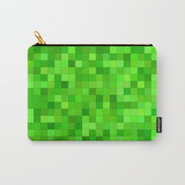Green square mosaic Carry-All Pouch