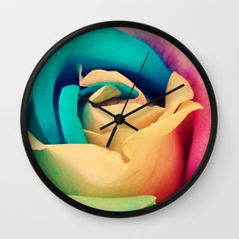 Rose#1 Wall Clock