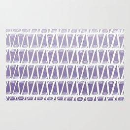 Tee Pee Gradient Ultra Violet Rug