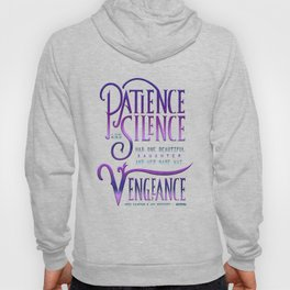 PATIENCE AND SILENCE Hoody