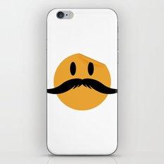 Moustache 01 iPhone & iPod Skin