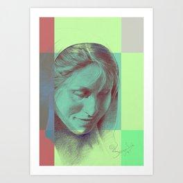 Margriet 02 Art Print