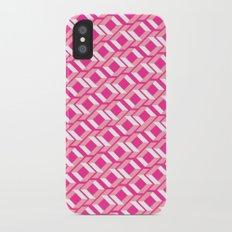 Pink Pattern Slim Case iPhone X