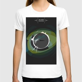 20,000 Leagues Under the Sea Design T-shirt