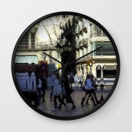 Saturday 9 March 2013: crass monsoon / benchmark splurge Wall Clock