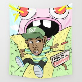 Tyler The Creator cherry bomb! Wall Tapestry