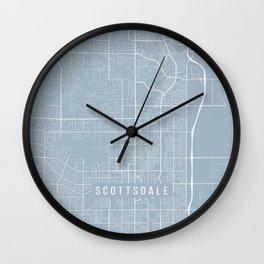 Scottsdale Map, USA - Slate Wall Clock