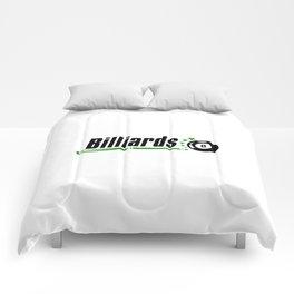Billiard #society6 Comforters