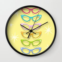 Make A Spectacle Of Yourself Wall Clock