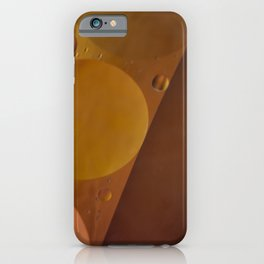 Pearl colored circles. iPhone Case