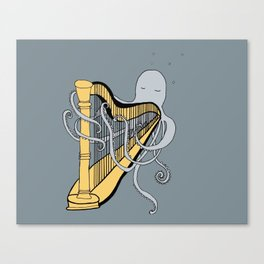 Octopus harper- illustration print Canvas Print
