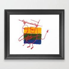 Frenchmannn Framed Art Print