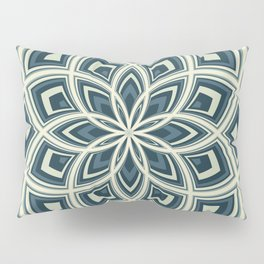 Spiral Rose Pattern E 4/4 Pillow Sham