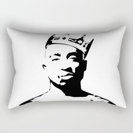 PORTRAIT OF THE BEST RAPPER OF ALL TIMES Rectangular Pillow
