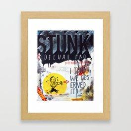 Stunk Pro Deluxe Framed Art Print