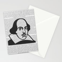 Words of Shakespeare Stationery Cards