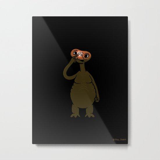 ET Pick Nose Metal Print