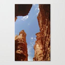 Hoodoos - Bryce Canyon - Up View Canvas Print