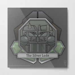 The Silver Lode Metal Print