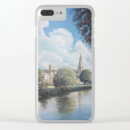 The Meadows, Stamford Clear iPhone Case