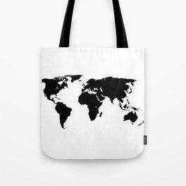World Outline Tote Bag