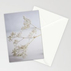 Soft flowers Stationery Cards