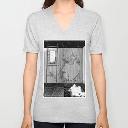 asc 543 - La lupara (Don't forget your silver bullets after midnight) Unisex V-Neck