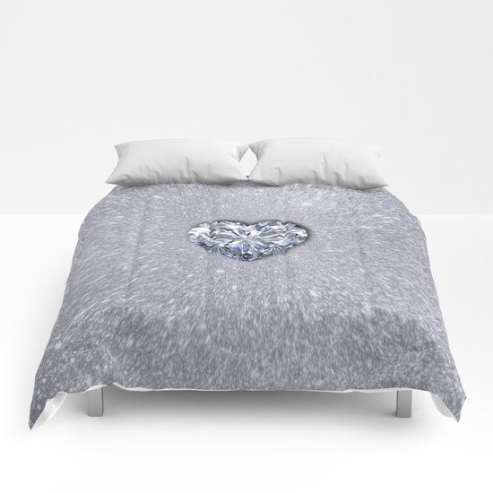 Diamond Love Comforters