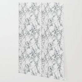 white marble IV Wallpaper