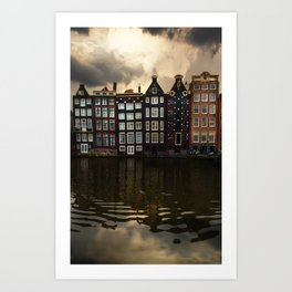 Postcards from Amsterdam Art Print