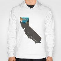 big sur Hoodies featuring California: Big Sur by Brooke Loeffler