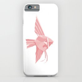 Origami Angelfish iPhone Case