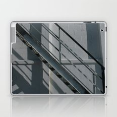 Stairs Black and White Laptop & iPad Skin